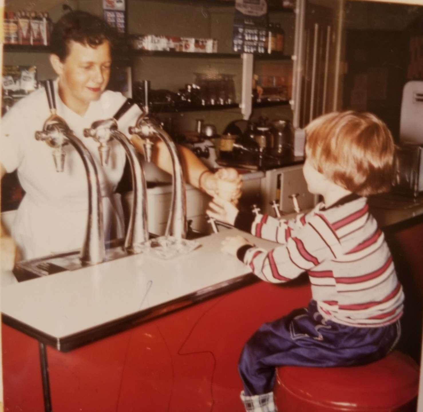 Pic 28 Debi ice cream young child